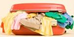 suitcase stuffed